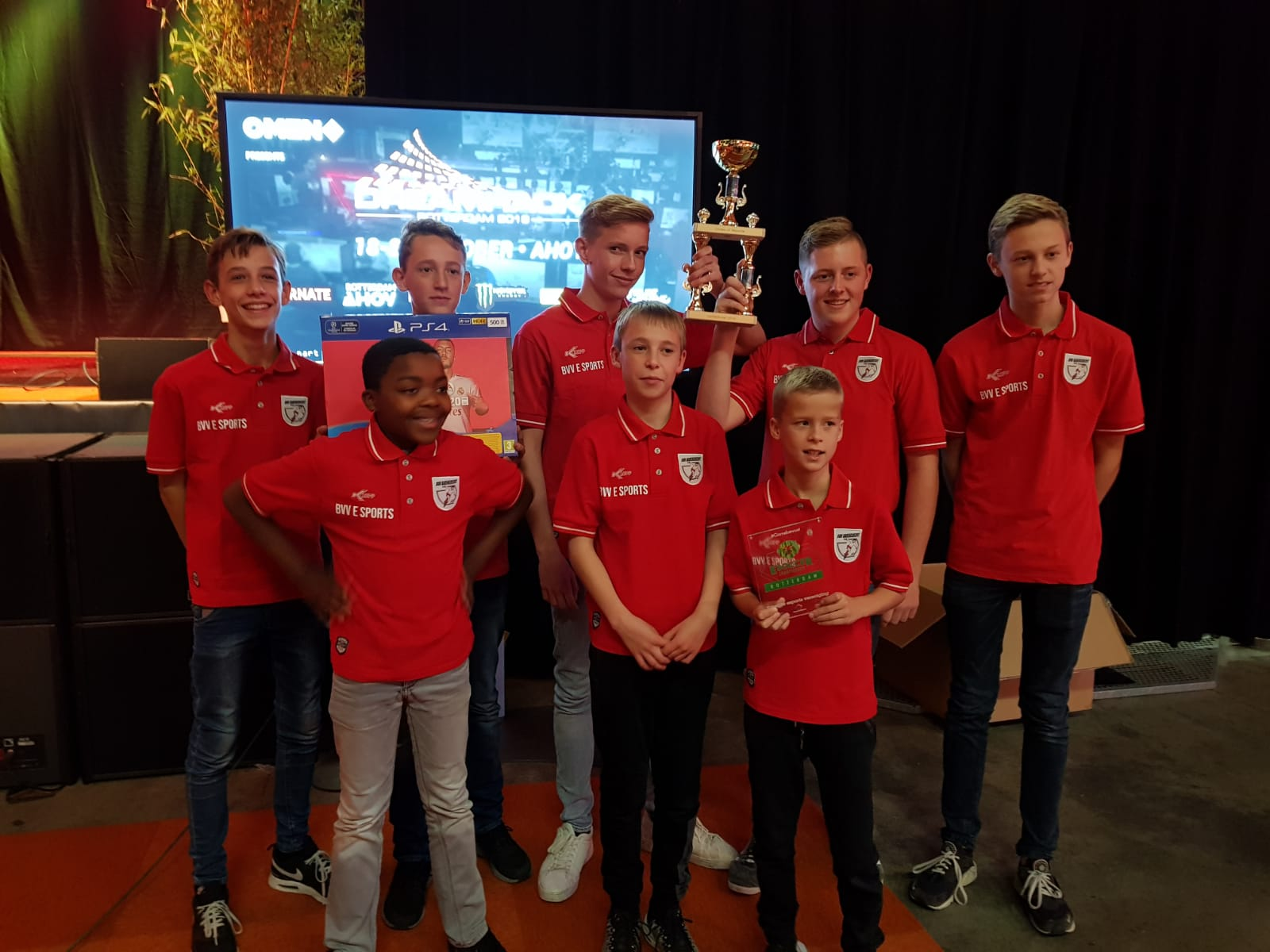 E-sports team BVV Barendrecht